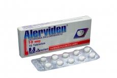 Alerviden 10 mg Caja Con 10 Tabletas
