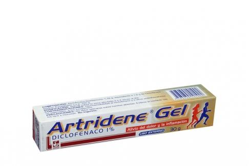 Artridine Gel 1% Caja Con Tubo Con 30 g
