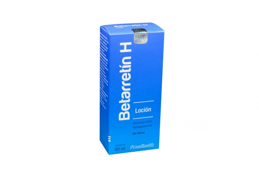 Betarretin H Loción Frasco Con 60 mL Rx