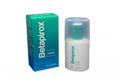 Betapirox Champú Caja Con Frasco Con 120 mL