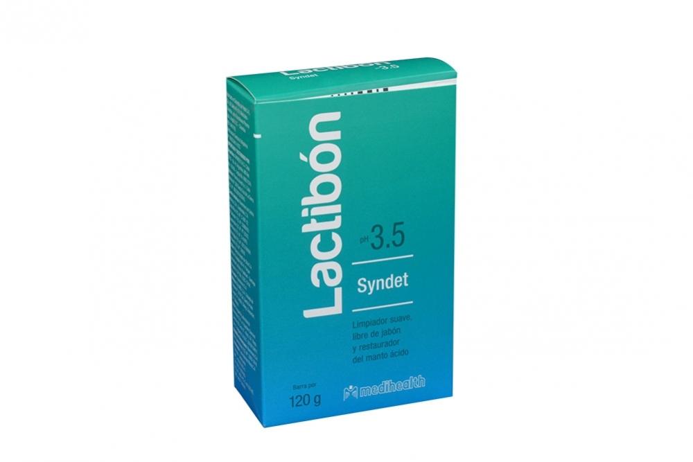 Lactibón Syndet PH 3.5 Caja Con Barra Con 120 g