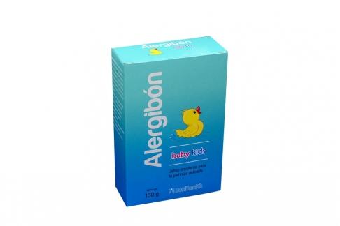 Jabón Alergibón Baby Kids Caja Con Barra Con 150 g
