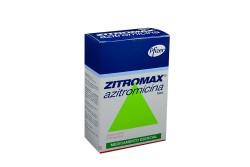 Zitromax Caja X Suspensión 200mg / 5mL Rx2