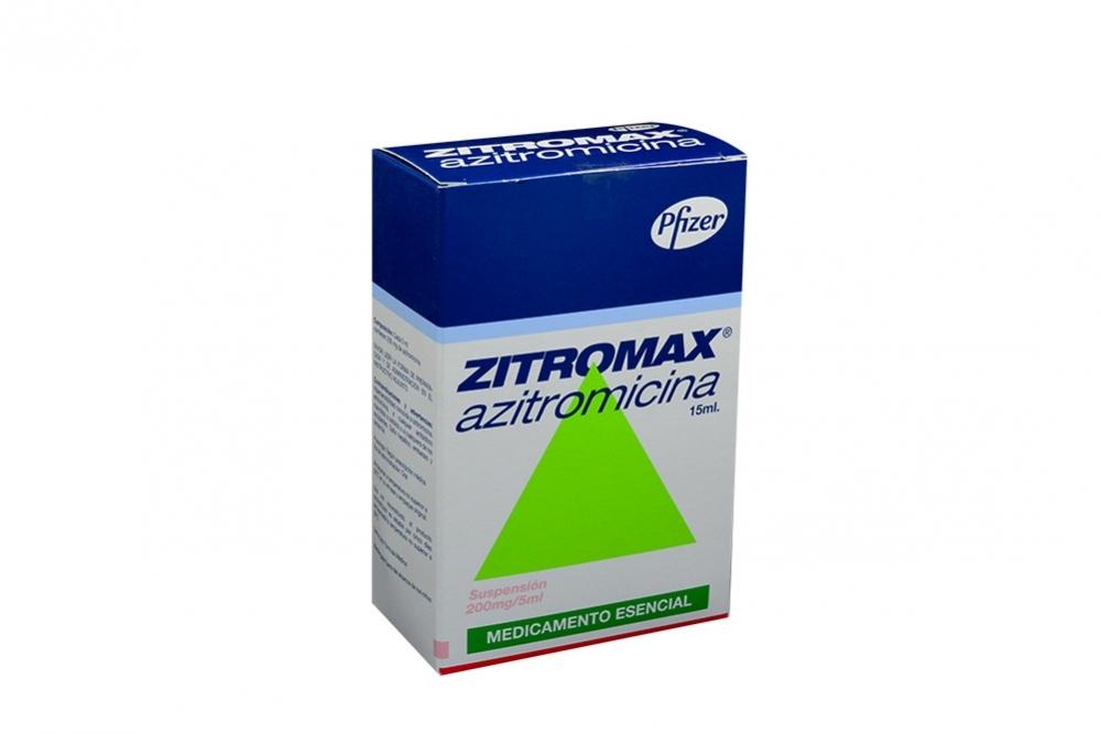 Zithromax pediatrico presentaciones