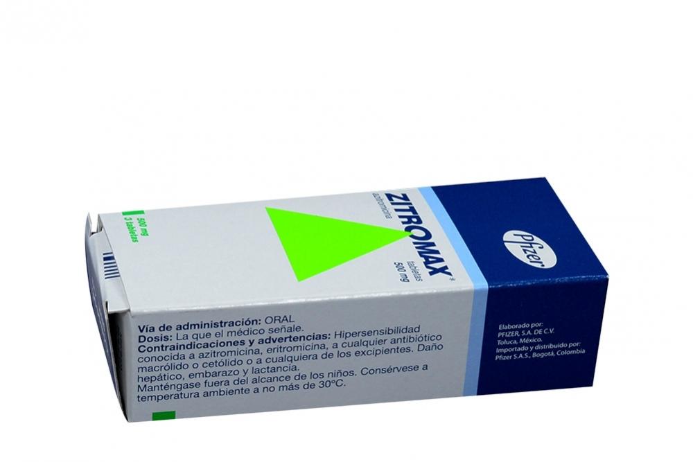 Zithromax 500 mg posologia de azitromicina