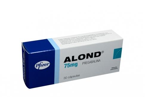 Alond 75 mg Caja x 30 Cápsulas Rx1