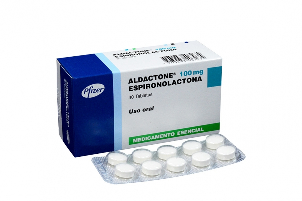 Aldactone 100 mg Caja Con 30 Tabletas RX4