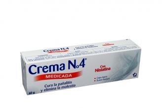 Crema N° 4 Caja Con Tubo Con 60 g