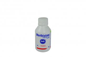 Merthiolate Tintura Frasco Con 90 mL
