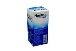 Noraver Tos 4 mg / 5 mL Caja Con Frasco Con 120 mL Con Cuharín Dosificador