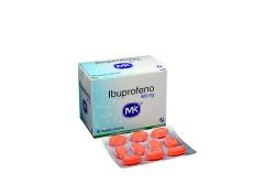 Ibuprofeno 600 mg Caja Con 50 Tabletas Cubiertas Rx