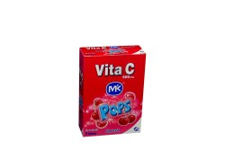 Vita C Granulado Mk Pops 500 mg Caja Con 5 Sobres