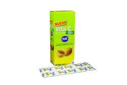 Vita C + Zinc 500 mg Caja Con Frasco Con 100 Tabletas Masticables – Sabor Maracuyá