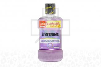 Enjuague Bucal Listerine Cuidado Total Frasco Con 250 mL – Extra Contenido