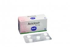 Aciclovir 200 mg Caja Con 25 Tabletas Rx