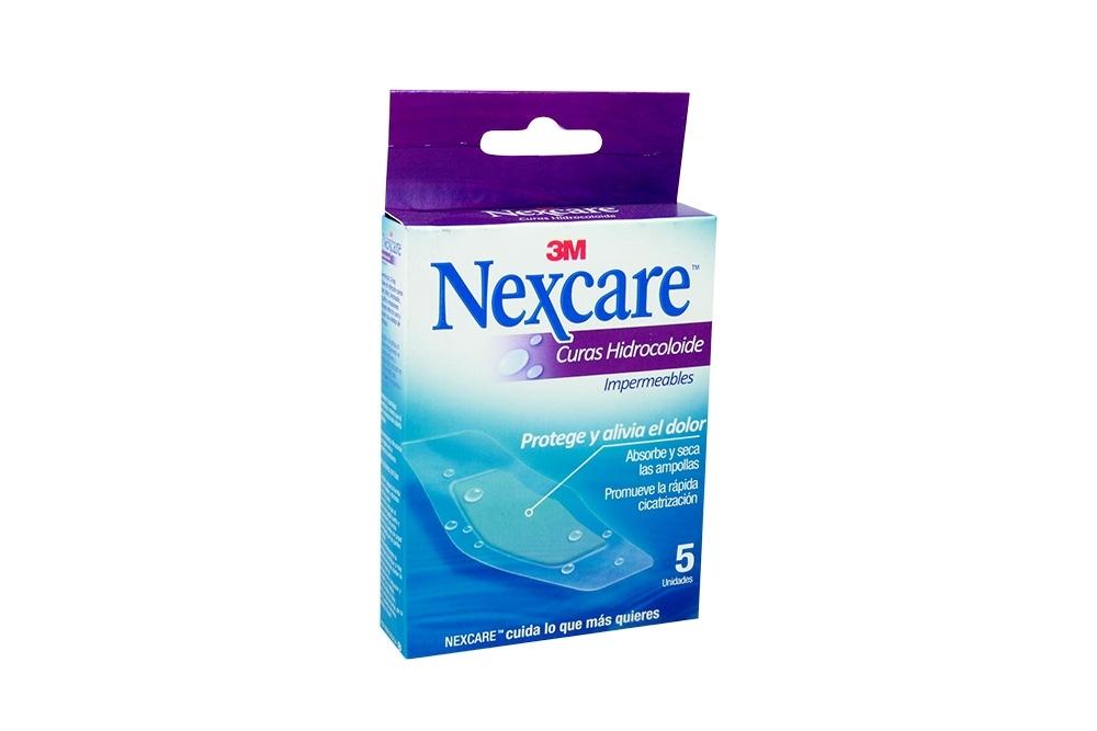 Nexcare Curas Hidrocoloide Impermeable Caja 5 Unidades