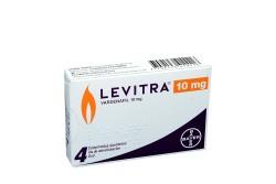 Levitra 10 mg Caja Con 4 Comprimidos Recubiertos Rx