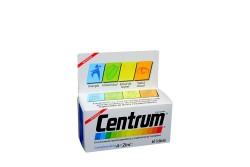 Centrum Complemento  De LA A Al Zinc Caja Con 60 Tabletas