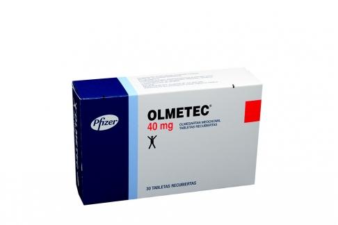 Olmetec 40 mg Caja Con 30 Tabletas Rx4 Rx1