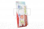 Cepillo Dental 2 Unidades + Crema Colgate Total 12 Tubo Con 75 mL