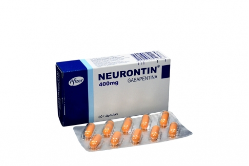 Neurontin 400 mg Caja Con 30 Cápsulas Rx4