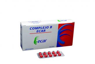 Complejo B Ecar Caja X 250 Grageas Rx