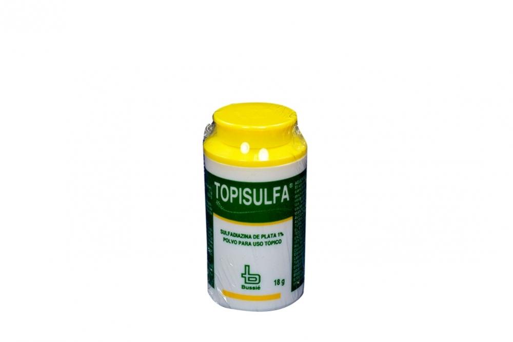 Topisulfa Polvo 1% Frasco Con 18 g