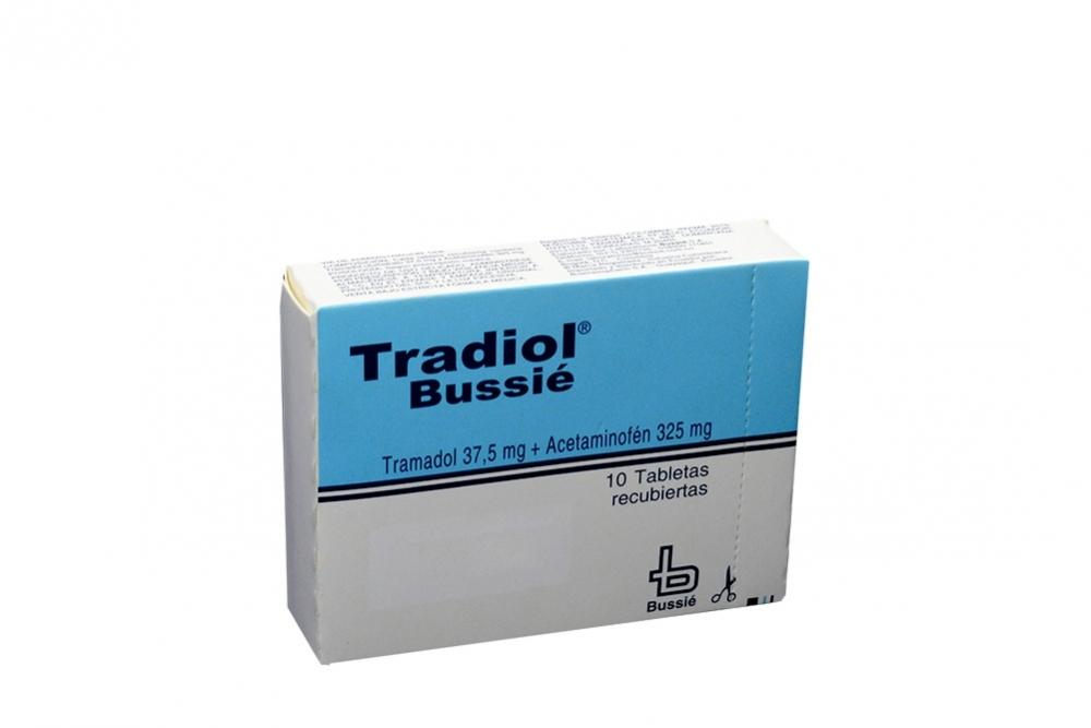 Tradiol Caja Con 10 Tabletas Rx