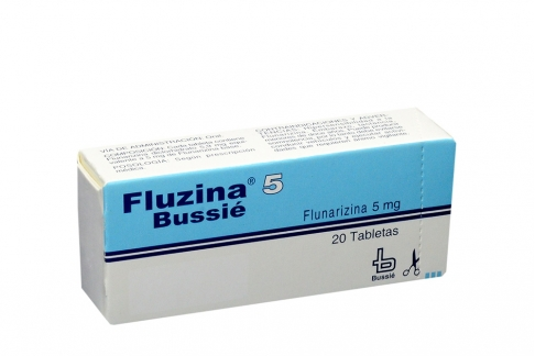 Fluzina Bussié 5 mg Caja Con 20 Tabletas  Rx