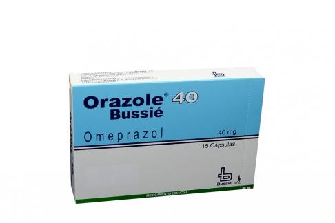 Orazole 40 mg Caja Con 15 Cápsulas Rx
