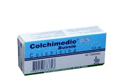 Colchimedio Bussie 0.5 mg Caja Con 40 Tabletas Rx