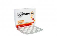 Drugtech Quetidin XR 200 mg Caja Con 30 Tabletas Rx1 RX4