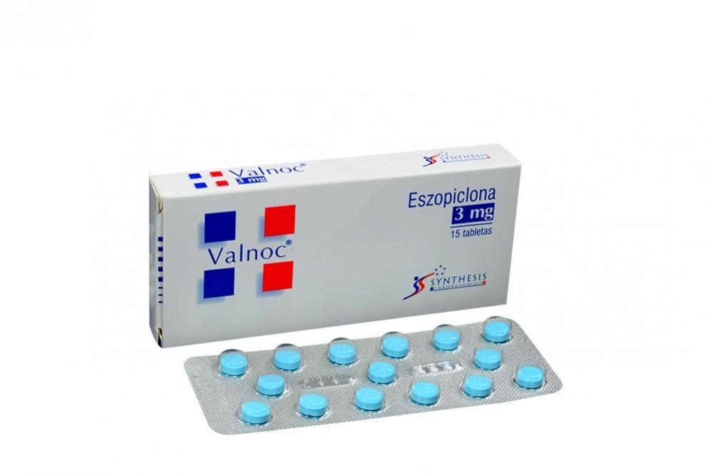 Valnoc 3 mg Caja Con 15 Tabletas Rx