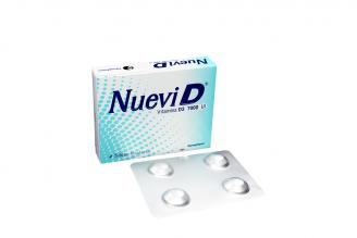Nuevi D 7000 UI Caja X 4 Tabletas Rx