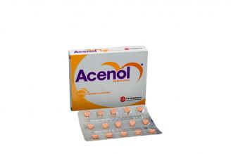 Acenol 25 mg Caja Con 30 Tabletas Rx4