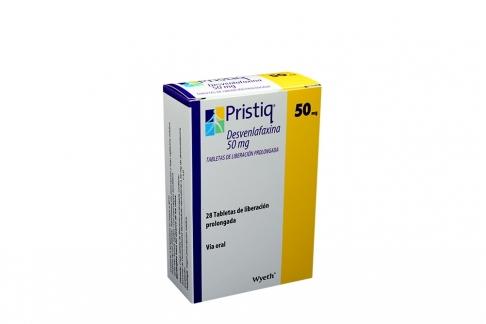Pristiq 50 mg Caja Con 28 Tabletas De Liberación Prolongada Rx4