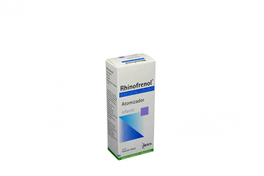 Rhinofrenol Infantil Solución Caja Con Frasco X 15 mL Rx