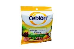 Cebion Vitamina C Sobre Sabor Tropical Con 12 Tabletas Masticables