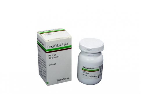 Encefabol 200 mg Caja Con 30 Grageas Rx