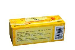 Cebión 1 g Caja Con 10 Tabletas Efervescentes - Sabor Naranja