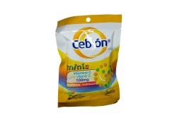Cebión Minis 100 mg Bolsa Con 45 Tabletas Masticables