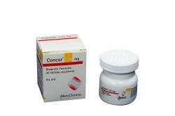 Concor 1.25 mg Caja Con Frasco Con 30 Tabletas Recubiertas Rx