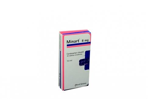 Minart 8 mg Caja Con 30 Tabletas Recubiertas Rx4