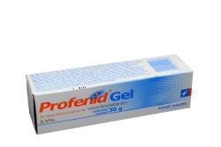 Profenid Gel 2.5% Caja Con Tubo Con 30 g Rx