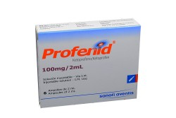 Profenid 100 Mg/2 mL X 6 Ampollas RX