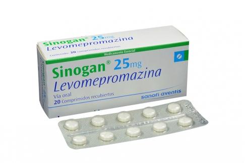 Sinogan 25 mg Caja Con 20 Comprimidos Recubiertos Rx4