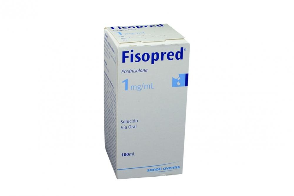 Fisopred Solución 1 mg/ mL Caja Con Frasco Con 100 mL Rx