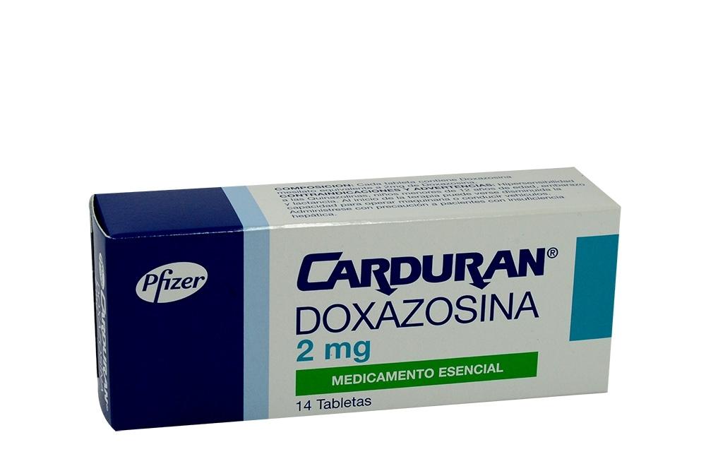 Carduran 2 mg Caja Con 14 Tabletas Rx4