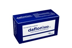 Daflon 500 mg Caja Con 60 Comprimidos Recubiertos  Rx4