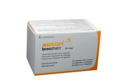 Seebri Breezhaler 50 mcg Polvo Para Inhalación Caja Con 30 Cápsulas + 1 Inhalador Rx Rx1